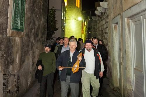 Povratak u salu nakon halekanja, veljača 2012. (foto: Stjepan Tafra)