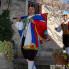 Dolazak u kapetanovu kuće, alfir, Smokvica, veljača 2011. (foto: iz arhiva VU Kumpanjija Smokvica)
