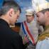 U kapetanovoj kući, kapetan i kapural, Smokvica, veljača 2011. (foto: iz arhiva VU Kumpanjija Smokvica)