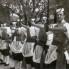 Kumpanjoli dižu mačeve na pozdrav kapitanu, 1960. (foto: Ivan Ivančan, iz fototeke IEF)