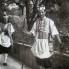 Srzentin kumpanjije, u pozadini kapitan, 1960. (foto: Ivan Ivančan, iz fototeke IEF)