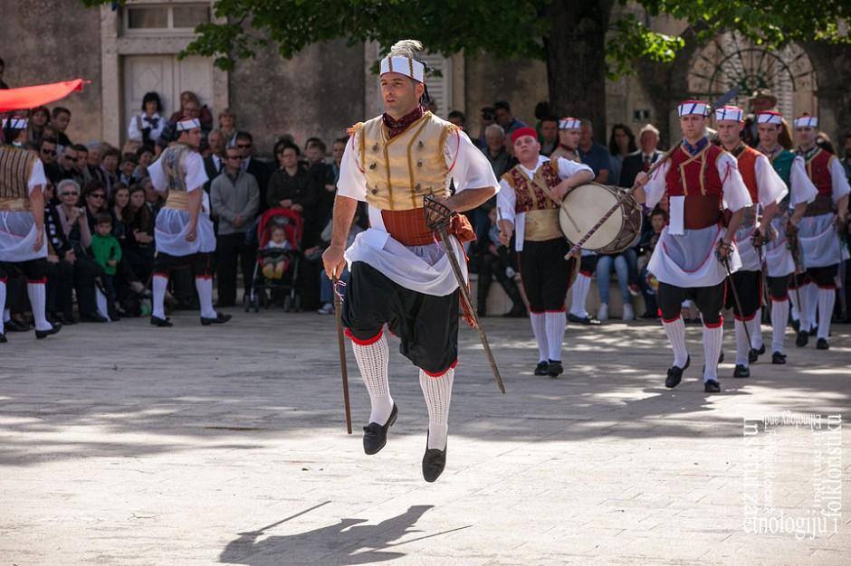 VU Kumpanjija Blato, Sv. Vicenca, travanj 2013. (foto: <em>Stjepan Tafra</em>)