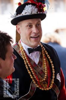 Pokladar Tonći Šarić, ožujak 2011. (foto: Stjepan Tafra)