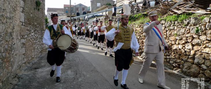 Ophod kumpanjijara, Smokvica, veljača 2011. (foto: iz arhiva VU Kumpanjija Smokvica)