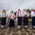 Izvedba kola bijelih maškara u Prisoju, Putnikovići, ožujak 2014. (foto: Stjepan Tafra)