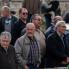 Mještani prate kolo bijelih maškara, Putnikovići, ožujak 2014. (foto: <em>Stjepan Tafra</em>)